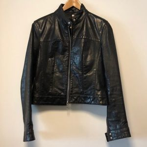 NAFNAF Leather Jacket